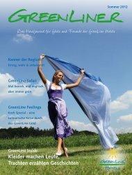 GreenLiner Magazin Sommer 2012
