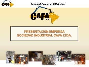 Presentación CAFA Ltda