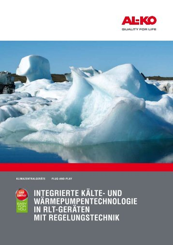 IntegrIerte Kälte- und WärmepumpentechnologIe ... - AL-KO Kober AG
