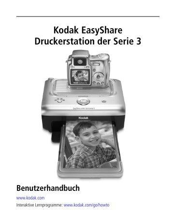 Kodak EasyShare Druckerstation der Serie 3