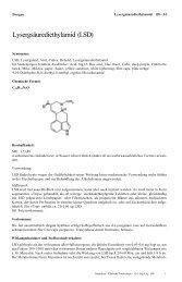 Lysergsäurediethylamid (LSD)