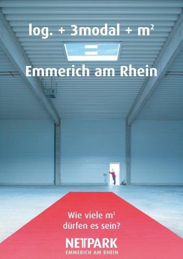 log. + 3modal + m2 Emmerich am Rhein - Nettpark-emmerich.de
