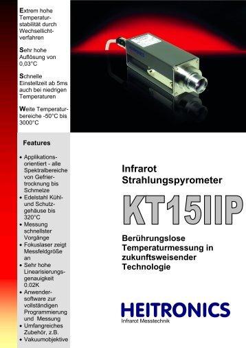 Datenblatt KT15 Serie IIP [PDF, 1.00 MB] - MTS Messtechnik ...