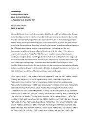 Pressetext 9. Mai 2005 - Daimler Kunst Sammlung