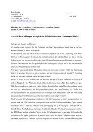 Fricke, Ruth: Aktuelle Entwicklungen bezüglich der Rehabilitation der