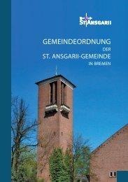 GEMEINDEORDNUNG - St. Ansgarii Gemeinde