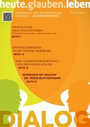 Magazin heute.glauben.leben - Kilianshaus