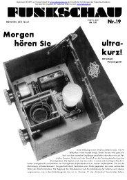 Funkschau 4.Jahrgang 1931 Heft19 - Radiomuseum.org