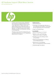 HP Hardware Support Offsite.pdf - alphaTrust.ch ag