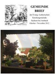 2012-10_11_Gemeindeb.. - Evangelische Kirchengemeinde ...