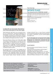 Download Pressemitteilung (PDF, 321 KB) - Arnoldsche