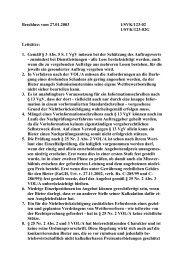 Beschluss vom 27.01.2003 1/SVK/123-02 1/SVK/123-02G Leitsätze