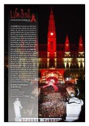 Der Life Ball fand als weltweit erste AIDS-Charity in einem ...