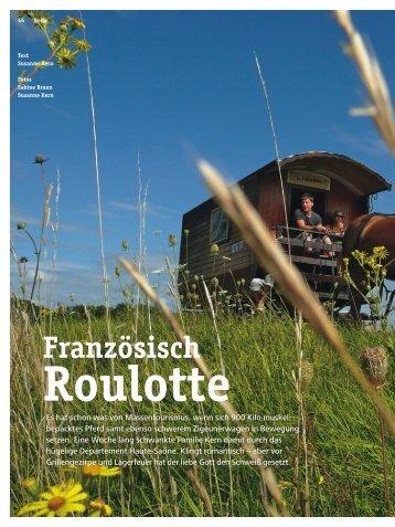 Druckversion: Französisch Roulotte - 4-Seasons.de