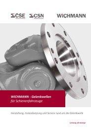 WiCHMANN - Gelenkwellen für Schienenfahrzeuge