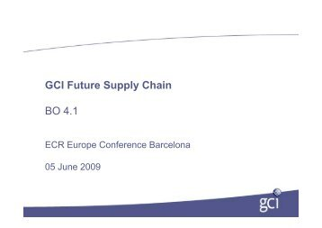 GCI Future Supply Chain BO 4.1
