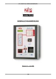 Loader PLUS GEBRAUCHSANWEISUNG - N&W Global Vending