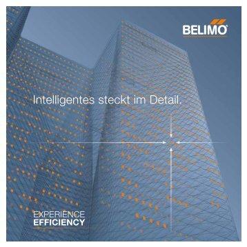 Intelligentes steckt im Detail. - Belimo