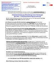Antrag für die Außerbetriebsetzung eines Fahrzeuges in ... - Viernheim