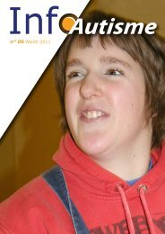 n° 06 Abrëll 2011 - Autisme Luxembourg asbl