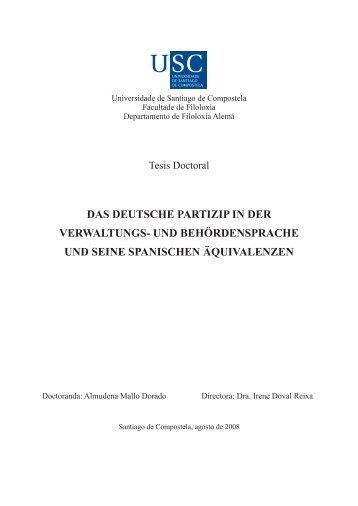 das deutsche partizip in der verwaltungs- und behördensprache und ...