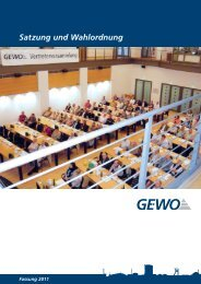 Satzung und Wahlordnung.pdf - GE-WO Gemeinnütziger ...