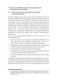 5 Istanalyse der Büchertransporte des regionalen und ...