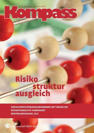 Kompass - Mai | Juni 2013 (PDF/357 KB) - Knappschaft-Bahn-See
