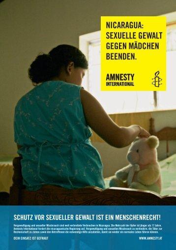 nicaragua - Amnesty International Österreich