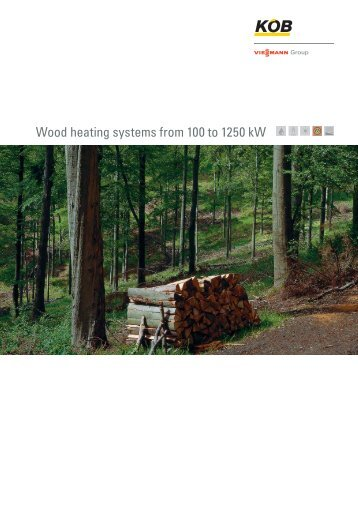 Wood heating systems from 100 to 1250 kw