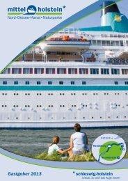 Gastgeber 2013 - Tourist-Information Nord-Ostsee-Kanal