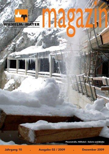 Jahrgang 10 . Ausgabe 02 / 2009 . Dezember 2009