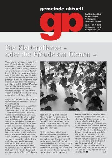 8 - Katholischen Kirchengemeinde Giengen