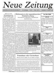 Traumhaus oder Geisterhaus - Neue Zeitung