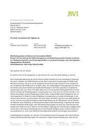BVI Position zum Entwurf der Verordnung über Risikomanagement ...