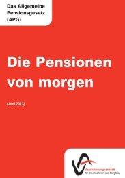 Pensionen von Morgen - VAEB