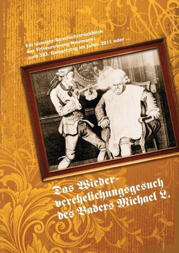 verehelichungsgesuch des Baders Michael L. - elisabeth-haarstudio ...
