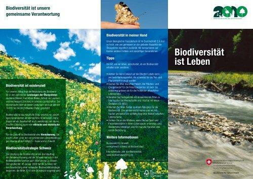 Biodiversität ist Leben