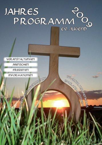Jahresprogramm 2009 des Jugenddienstes des Ev. luth ...