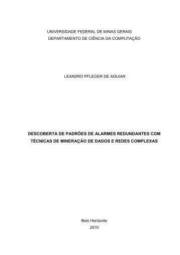 Biblioteca Digital de Teses e Dissertações da UFMG - Universidade ...