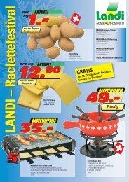 Racletteflyer (pdf / 2510 KB) - LANDI Sempach-Emmen
