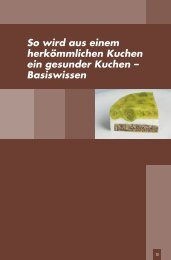 Basiswissen gesundes Backen - Harriet´s Koch