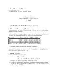 Nichtlineare Optimierung - ZIB