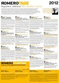 Programm Romero-Tage 2012 - Seite 2