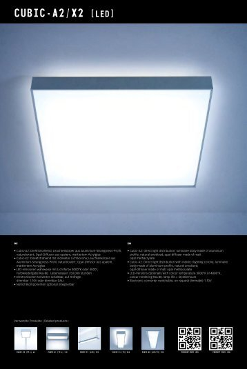 CUBIC-A2/X2 [LED] - mabalux