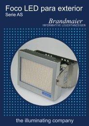 Foco LED para iluminación exterior(Pdf 185 KB - Brandmaier ...