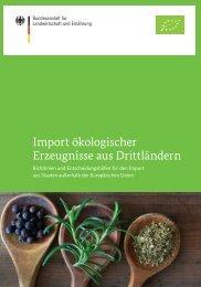Import ökologischer Erzeugnisse aus Drittländern - LACON Institut