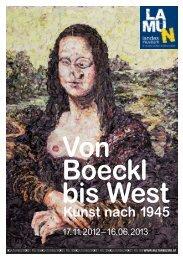 Von Boeckl bis West. Kunst nach 1945. 2012 - Landesmuseum ...