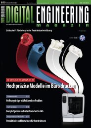 Leseprobe Digital Engineering Magazin 2010/08