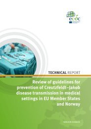 Review of guidelines for prevention of Creutzfeldt–Jakob - European ...